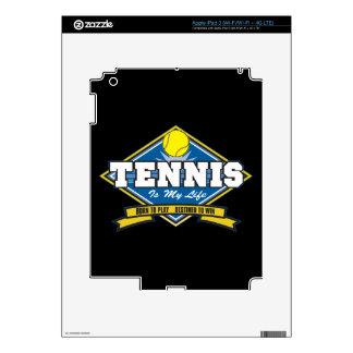Tennis is My Life iPad 3 Decals