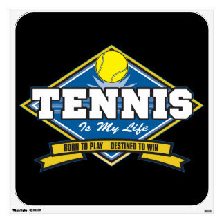 Tennis is My Life Wall Decal