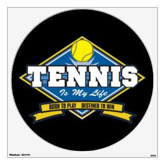 Tennis is My Life Wall Sticker