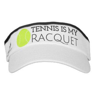 Tennis is My Racquet Visor