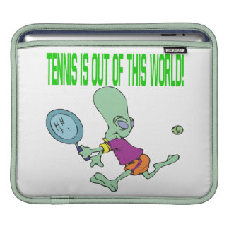 Tennis Is Out Of This World iPad Sleeves