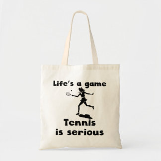 Tennis Is Serious Bag