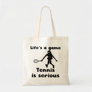 Tennis Is Serious Bags