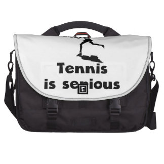 Tennis Is Serious Commuter Bags