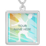 Tennis Jewelry - Personalized necklace - add name