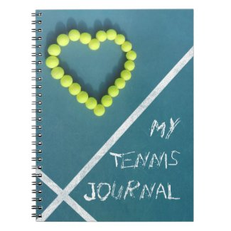 Tennis Journal personalized