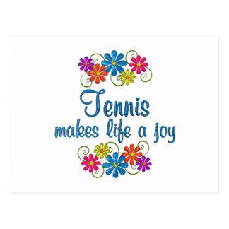 Tennis Joy Postcard