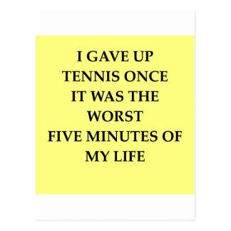 TENNIS.jpg Postcard