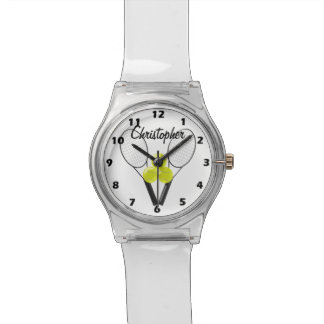 Tennis Just Add Name Wrist Watches
