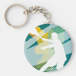 Tennis key chain and keychains
