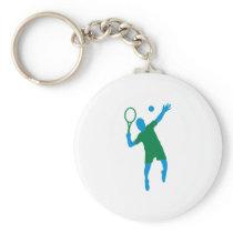 Tennis Keychain