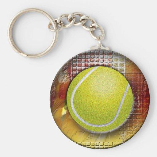 Tennis Keychains