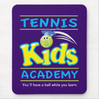 Tennis Kids Academy_You'll have a ball_purple Mouse Pad