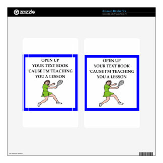 tennis kindle fire decals