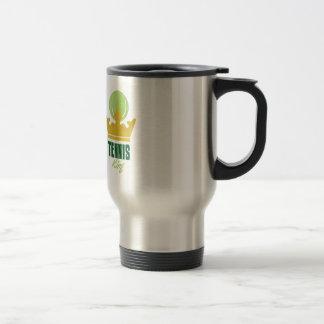 Tennis King 15 Oz Stainless Steel Travel Mug