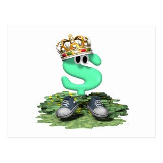 Tennis King Postcard