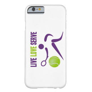 Tennis: Live. Love. Serve Barely There iPhone 6 Case