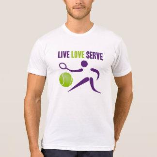 Tennis: Live. Love. Serve. T-shirt