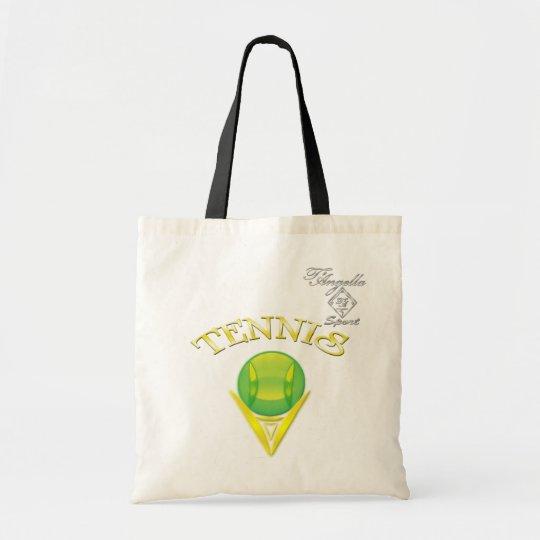 Tennis logo Budget Tote bag