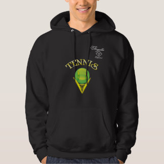 Tennis logo Hooded Sweatshirt