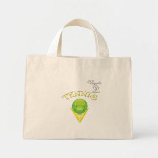 Tennis logo Tiny Tote bag