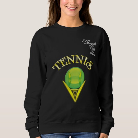 Tennis logo Women's Basic Sweatshirt