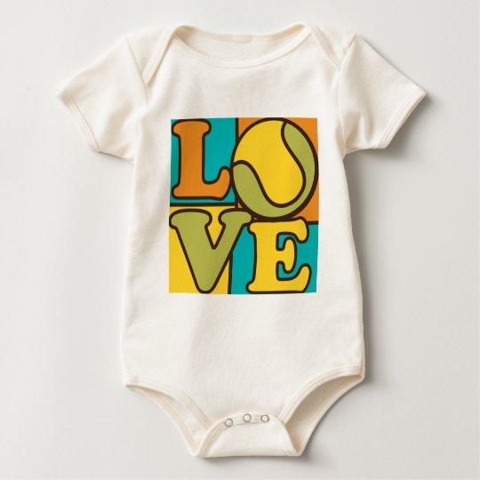 Tennis Love Baby Bodysuit