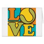 Tennis Love Greeting Card