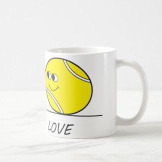Tennis Love-Love Coffee Mug