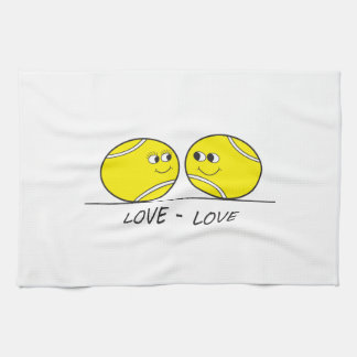 Tennis Love-Love Hand Towel