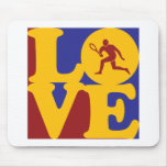 Tennis Love Mouse Pad