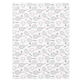 Tennis Love Pattern Tablecloth