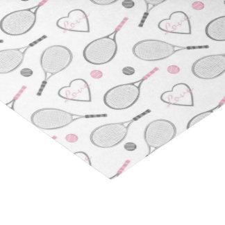 Tennis Love Pattern Tissue Paper