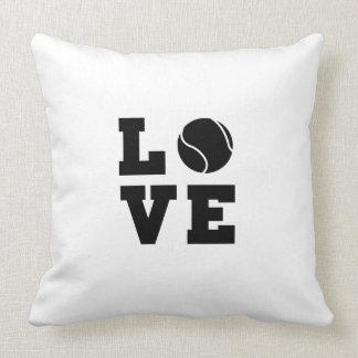 Tennis Love Throw Pillow