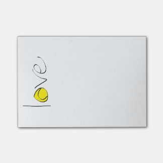 Tennis Love Post-Its Post-it® Notes
