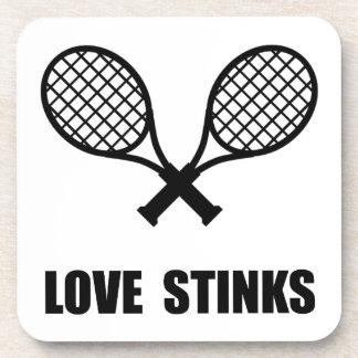 Tennis Love Stinks Drink Coasters
