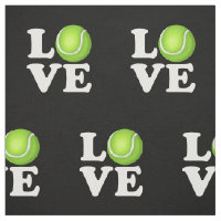 Tennis Love Tennis Fan Fabric
