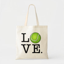Tennis Love Tennis Fan Tote Bag
