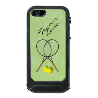 Tennis Love Waterproof iPhone SE/5/5s Case