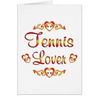 Tennis Lover Card