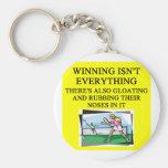 tennis lover keychains