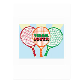 Tennis Lover Post Cards