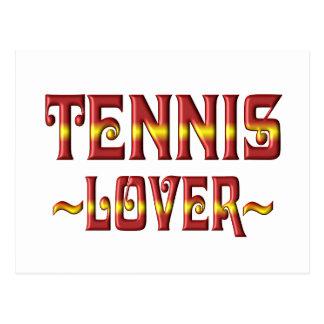 TENNIS LOVER POSTCARD