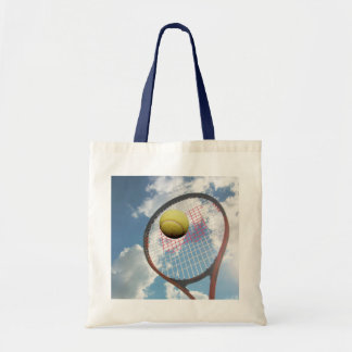 Tennis Lover Racket and Ball in the Air Bag