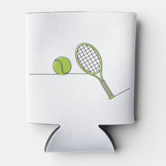 Tennis Lover | tennis gift Can Cooler