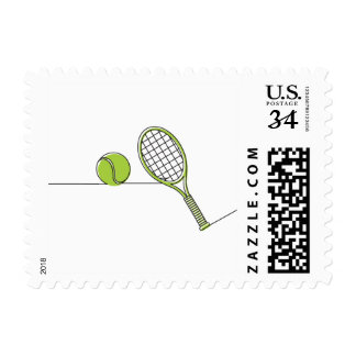 Tennis Lover   tennis gift Stamps
