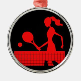 Tennis Metal Ornament