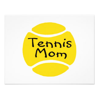 Tennis Mom 2 Personalized Announcement