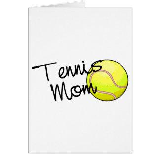 Tennis Mom Card