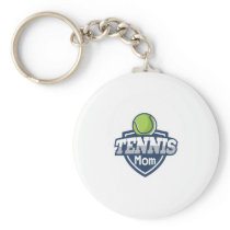 Tennis Mom Mothers Day Gift Love Tennis Keychain